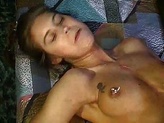 Allinternal cum filled billie star in steamy hot threesome - 2 part 10
