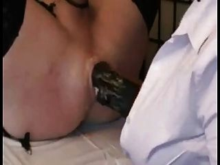 Veneisse 1 meter toy all in pussy anal fist and very deep - 2 7