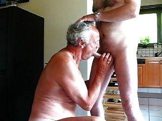 Old men sucking