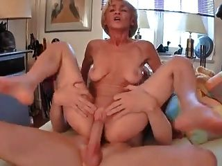 Saggy Granny Gets A Good Fucking !