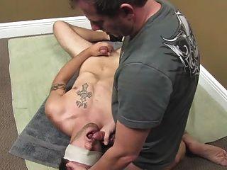 Eating Cum