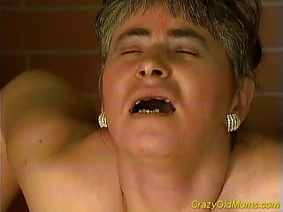Crazy Old Mom Gets My Big Cock Sucking And Fucking
