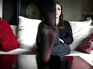 image Misshotwife hub gets to cum on my feet Part 6