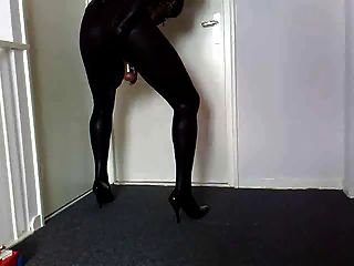 Zentai Play Buttplug Sissy Cd Tv