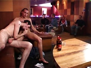 Two Hot Guys Fuck Bb In A Bar