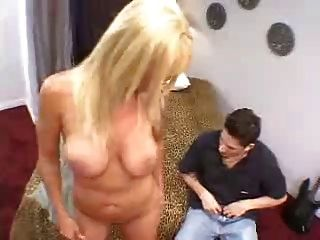 Mature Blonde Mother Fucked