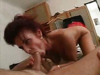 Mom Bathes Then Fucks Young Man