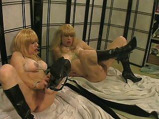 Allycdtv In My Lesbian Twin Girlfriend