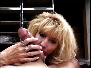 Hot Mature Blonde Cougar Dallas Callan Blowjob