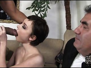 Humiliation Of Old Cuckold With Zoe Voss