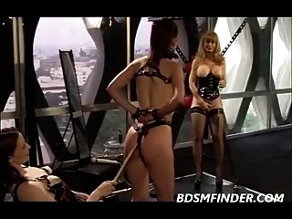 Femdom Group Domination And Canning