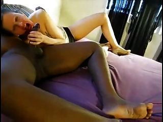 image White girl loves bbc creampie with sound