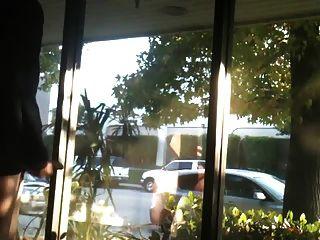 Very Public - Jerking Off In Store Window Seen By All