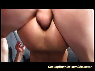 Her First Threesome Anal Porn Casting