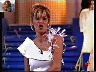 Yolanda Ramos Strip On Spanish Television