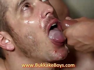Hunk Enjoys Bukkake And Anal Dp