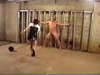 Policewoman Punish Prisoner