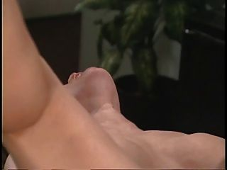 Sexy Asian Doctor Rubs Her Patients Pussy On Office Desk