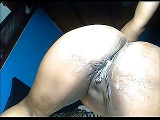 Chubby Columbian Squirting And Fisting Her Ass