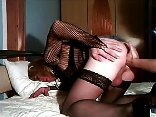 Horny Cd Loving Dildo And Big Cock