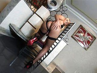 Amazing ladyboy handles this huge cock 8