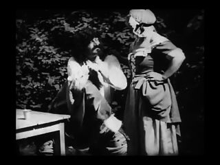 Vintage Erotic Movie 8 - Mousquetaire Au Restaurant 1910