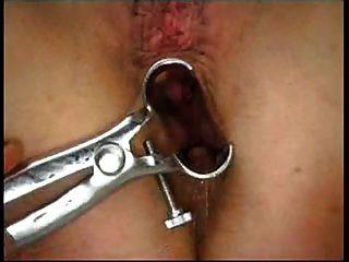 Hannah - Classic Amateur Squirter Plays Doctor