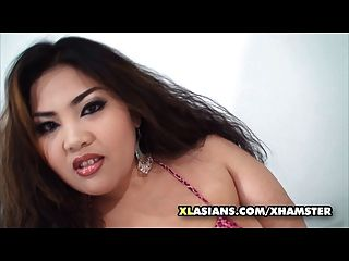 Asian Ssbbw Rubs Her Big Soft Belly