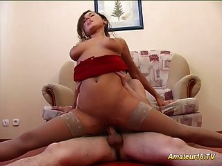 Flexible Gymnast Takes Cock Oral And Cum Shower Deep
