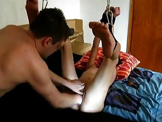Young Slut Fisted In Bondage