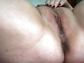 Bbw Plumper Gf Love Masturbating Her Squirting Creamy Pussy