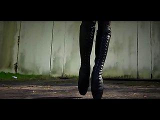 Beautiful Ballet-heel Boots