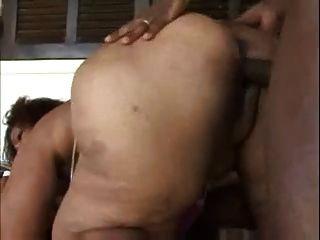 Brazilian bbw moura anal thank