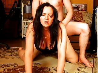 Submissive Wife Gets Ass Fucked By Her Russian Hubby