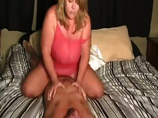 Expierenced older milf rides cock like a champ - 1 part 4