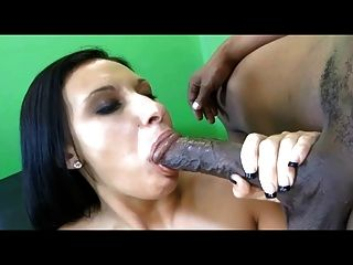 Big Tit White Slut Takes Huge Black Cock In Tight Pussy