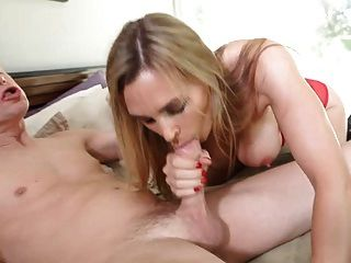 British Slut Tanya Gets Fucked On The Bed