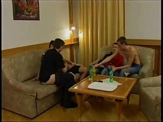 Hot Foursome: East European Guys Like To Fuck