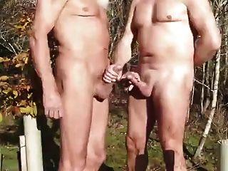 Mature Man At The Park