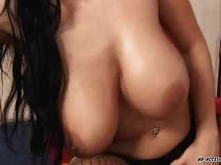 Beautiful Big Tits Laura Covered In Cum