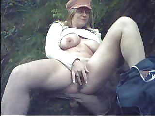 Woman deep throating gigantic dildo