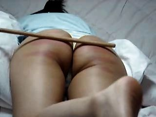 Korean Amateur Tight Spanked Ass