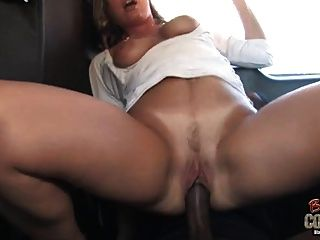White Mom Joey Lynn Used By Not Her Black Son On Back Seat