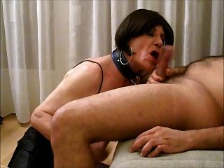 Lara Tranny Sucks, Licks Ass And Gets Fucked Bareback