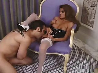 Sexy Asian Charmaine Stars Sex In High Heel & Stockings