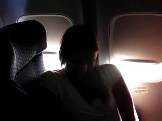 Solo #20 (hot Cougar Rubbing Herself 30k Feet Up In The Air)
