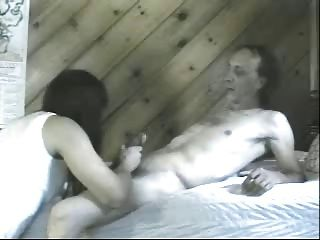 Tranny Takes Bf Bareback For Juicy Creampie