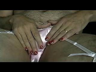Panty Boy In Pink Satin Panties & Garters - Part I