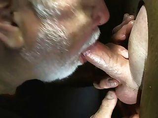 Beard Dad Sucks Cock