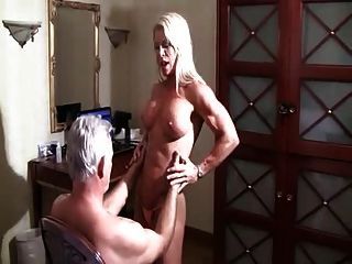 Muscle Bound Lapdance For The Old Man